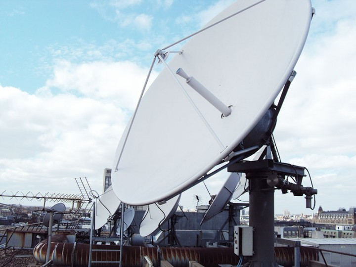 Trax Satellite Install, Broadcast Services, Antenna Supply