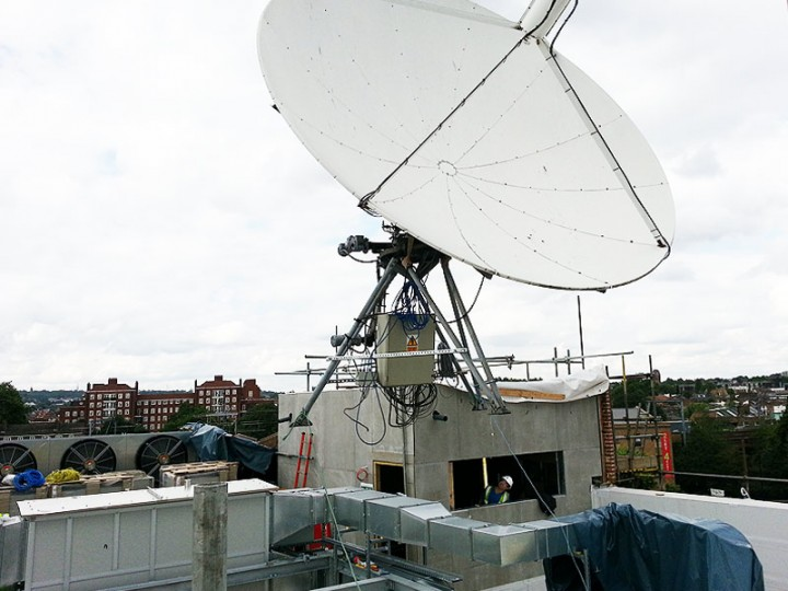Trax Satellite Install, Broadcast Services